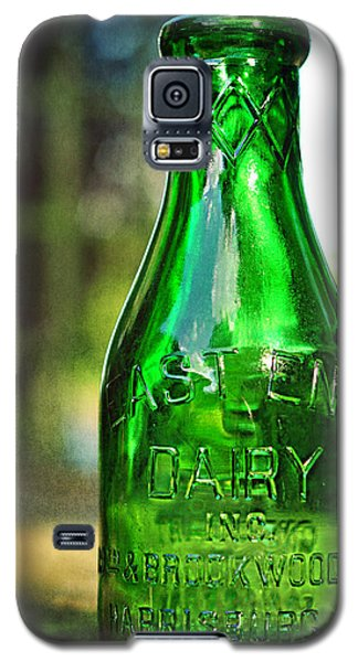 East End Dairy Green Milk Bottle Galaxy S5 Case