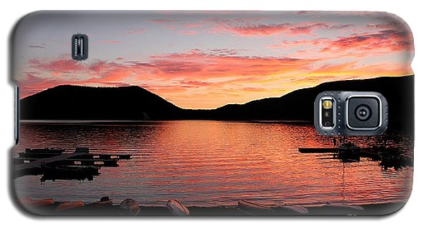 East Lake Sunset Galaxy S5 Case
