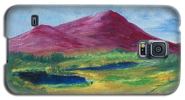Galaxy S5 Case featuring the painting East Of Schull by Conor Murphy