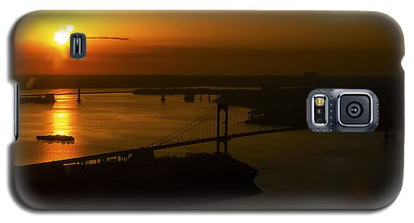 East River Sunrise Galaxy S5 Case by Greg Reed