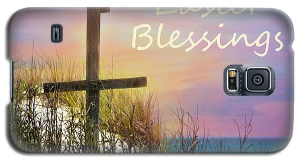 Easter Blessings Cross Galaxy S5 Case by Sandi OReilly