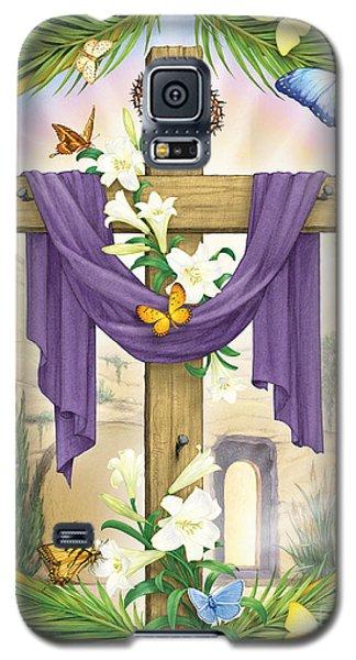 Easter Cross Galaxy S5 Case