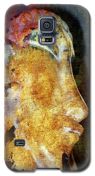 Easter Island Man Galaxy S5 Case by Irma BACKELANT GALLERIES