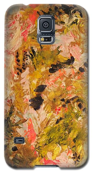 Galaxy S5 Case featuring the painting Easter Lily by Nancy Kane Chapman