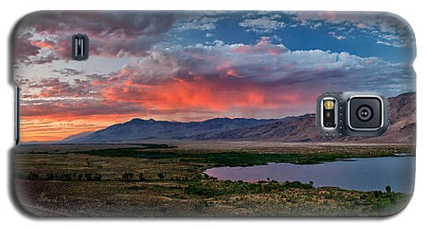 Eastern Sierra Sunset Galaxy S5 Case
