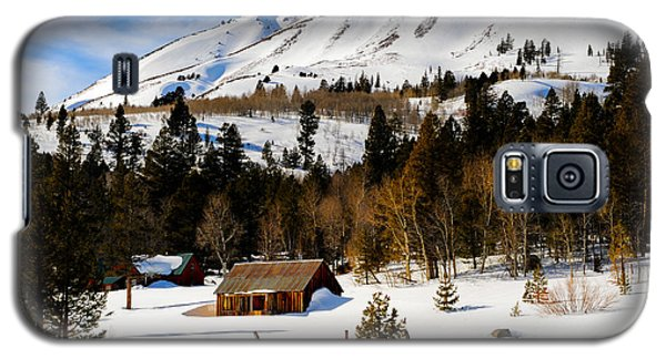 Eastern Slope Cabin Galaxy S5 Case by Donald Fink
