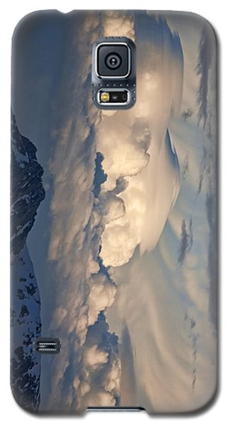 Galaxy S5 Case featuring the photograph Eastern Storm At Sunset - Phone Case by Gregory Scott