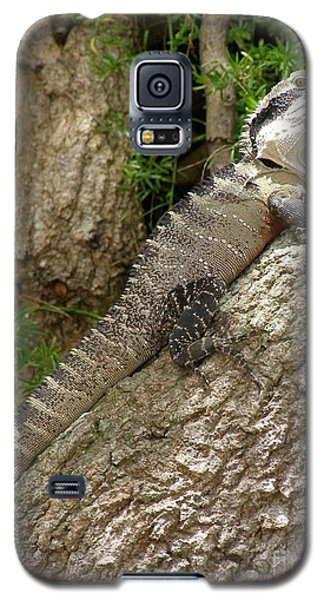 Galaxy S5 Case featuring the photograph Eastern Water Dragon by Bev Conover
