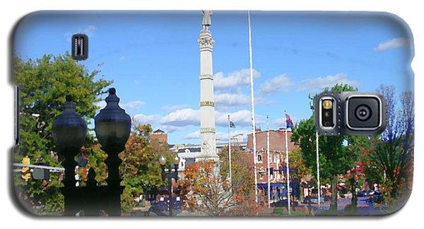 Easton Pa - Civil War Monument Galaxy S5 Case by Jacqueline M Lewis