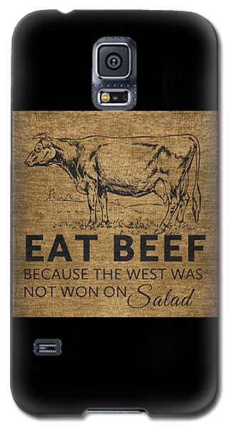 Eat Beef Galaxy S5 Case