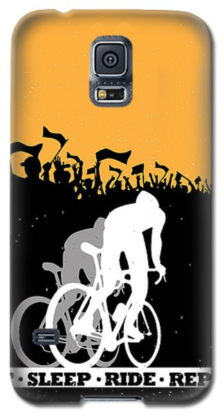 Eat Sleep Ride Repeat Galaxy S5 Case