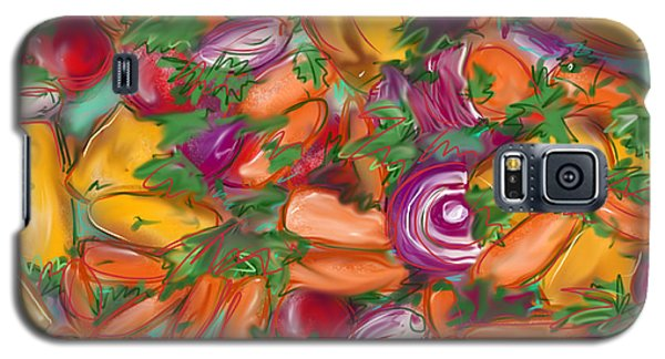 Eat Your Veggies Galaxy S5 Case by Jean Pacheco Ravinski