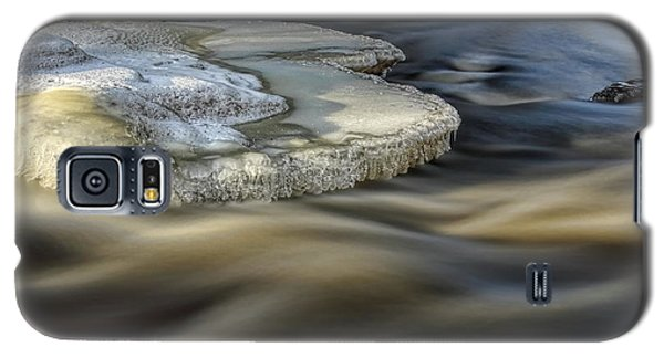 Eau Claire Dells Park River Ice Galaxy S5 Case