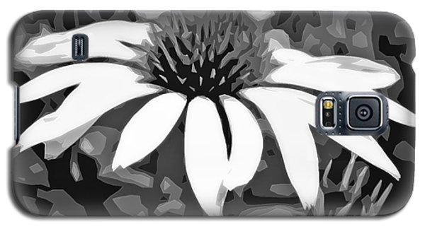 Galaxy S5 Case featuring the photograph Echinacea - Digital Art by Ellen Tully