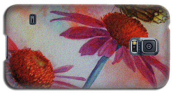 Echinacea Fritillaria Galaxy S5 Case