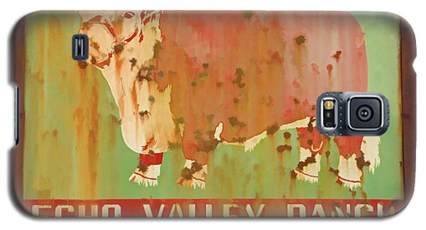 Echo Valley Ranch Stylized Galaxy S5 Case