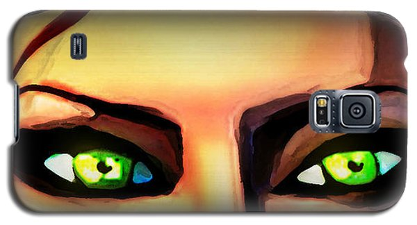 Galaxy S5 Case featuring the painting Echo's Eyes by Persephone Artworks