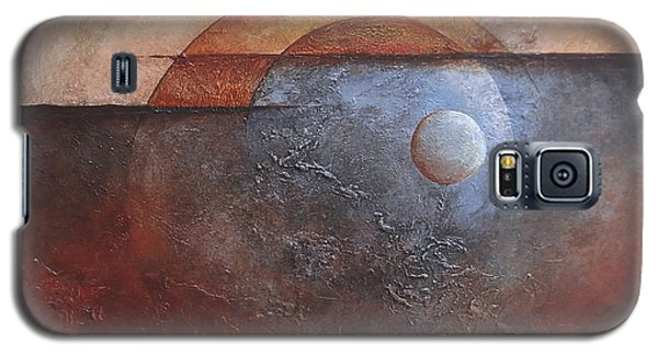 Galaxy S5 Case featuring the painting Eclipse by Buck Buchheister