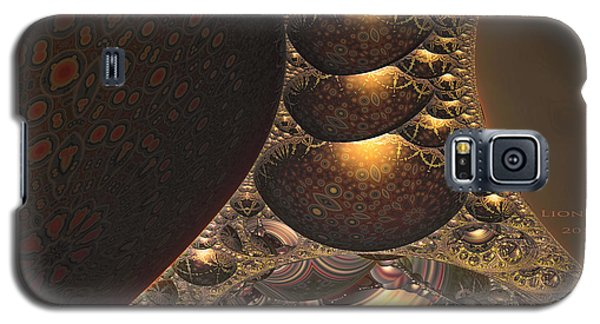 Galaxy S5 Case featuring the digital art Eclipse by Melissa Messick