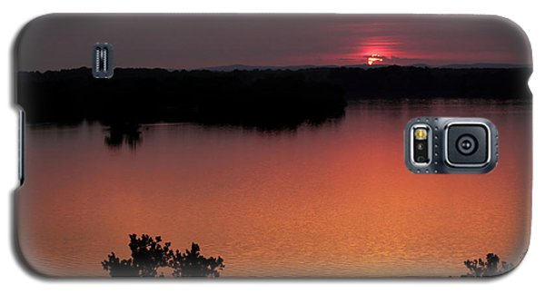 Galaxy S5 Case featuring the photograph Eclipse Of The Sunset by Jason Politte