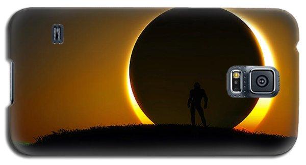 Galaxy S5 Case featuring the digital art Eclipse... by Tim Fillingim