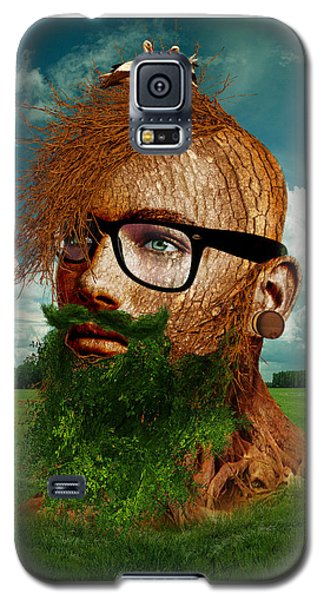 Eco Hipster Galaxy S5 Case by Marian Voicu