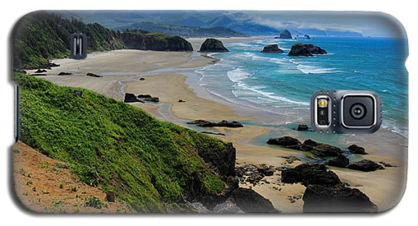Ecola State Park Beach Galaxy S5 Case