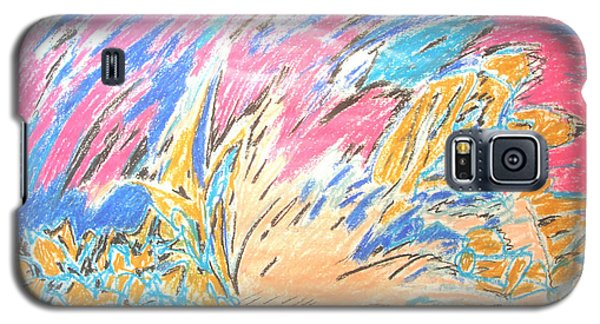 Galaxy S5 Case featuring the painting Ecstasy by Esther Newman-Cohen