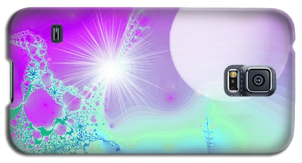 Galaxy S5 Case featuring the digital art Ecstasy by Ute Posegga-Rudel