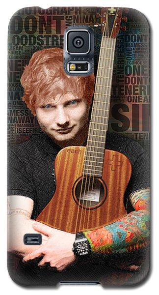 Ed Sheeran And Song Titles Galaxy S5 Case