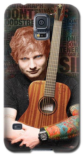 Ed Sheeran And Song Titles Galaxy S5 Case by Tony Rubino