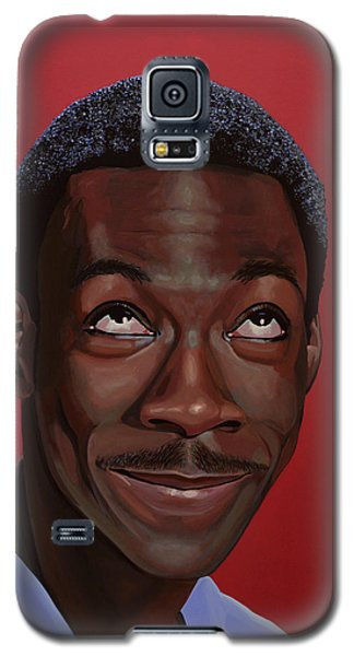 Eddie Murphy Painting Galaxy S5 Case by Paul Meijering