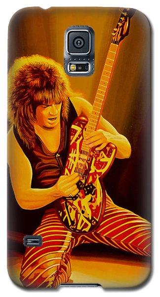 Eddie Van Halen Painting Galaxy S5 Case