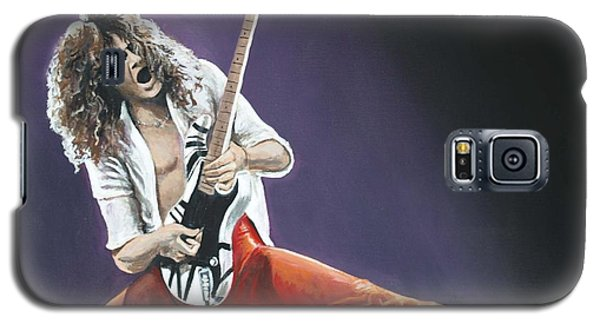 Eddie Van Halen Galaxy S5 Case by Tom Carlton