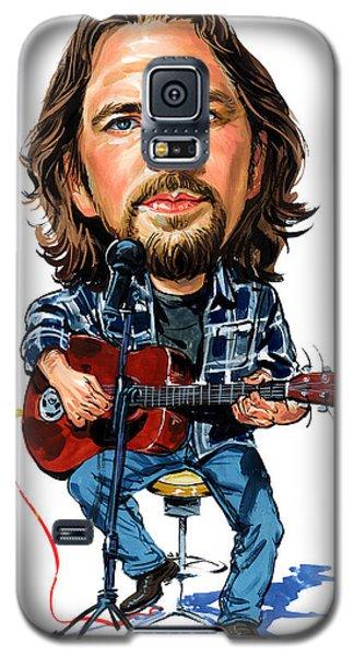Eddie Vedder Galaxy S5 Case by Art