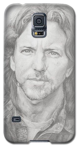 Eddie Vedder Galaxy S5 Case by Olivia Schiermeyer