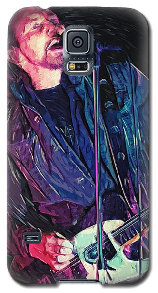 Neil Young Galaxy S5 Case - Eddie Vedder by Taylan Apukovska