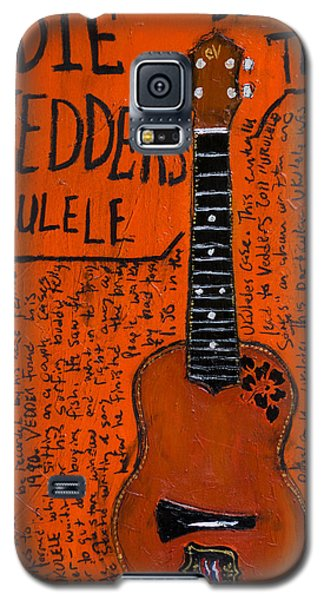 Eddie Vedder Ukulele Galaxy S5 Case by Karl Haglund