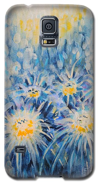 Galaxy S5 Case featuring the painting Edentian Garden by Holly Carmichael