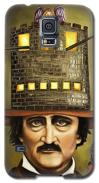 Edgar Allan Poe Galaxy S5 Case by Leah Saulnier The Painting Maniac