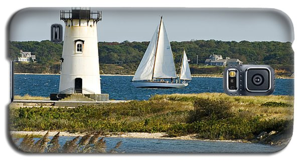 Edgartown Light At Martha's Vineyard Galaxy S5 Case