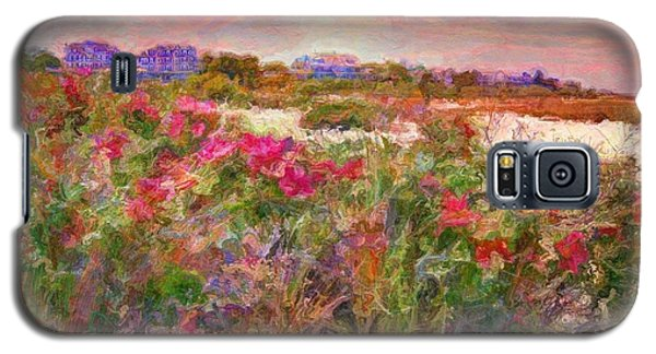 Edgartown Shoreline Roses - Horizontal  Galaxy S5 Case
