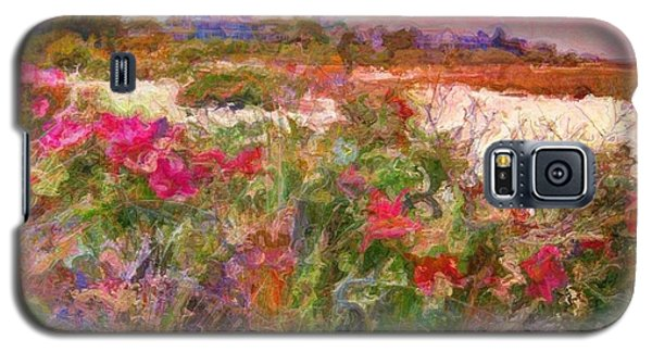 Edgartown Shoreline Roses - Square Galaxy S5 Case