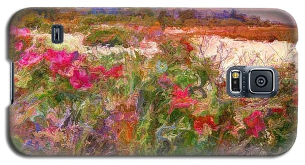 Edgartown Shoreline Roses - Square Galaxy S5 Case
