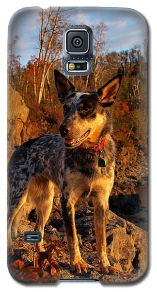 Galaxy S5 Case featuring the photograph Edge Of Glory by James Peterson
