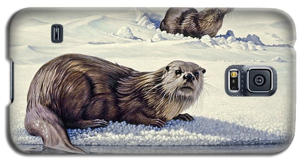 Otter Galaxy S5 Case - Edge Of The Lake by Paul Krapf