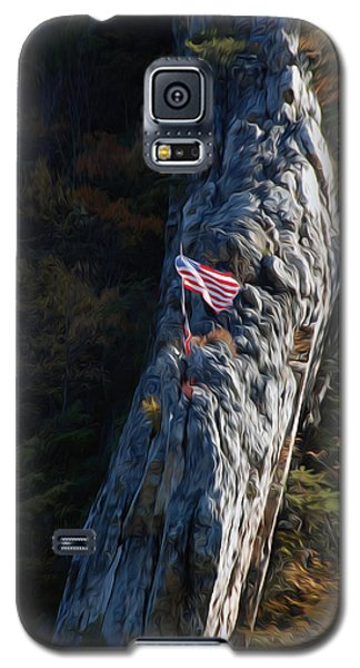 Galaxy S5 Case featuring the digital art Edge Of The Ledge by Kelvin Booker
