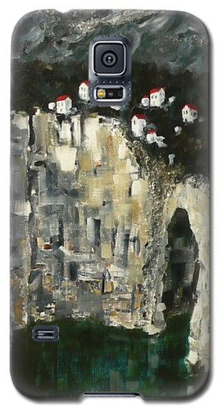 Galaxy S5 Case featuring the painting Edge Of The Sea by Jo Appleby