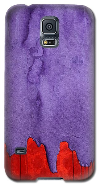 Edge Of The West Original Painting Galaxy S5 Case