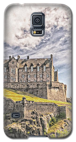Edinburgh Castle Painting Galaxy S5 Case